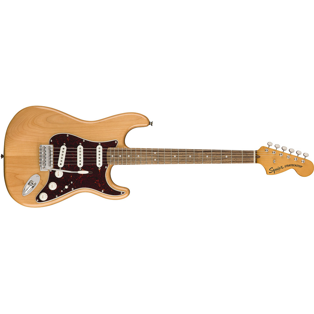 squier by fender classic vibe 39 70s stratocaster electric guitar laurel fingerboard natural. Black Bedroom Furniture Sets. Home Design Ideas