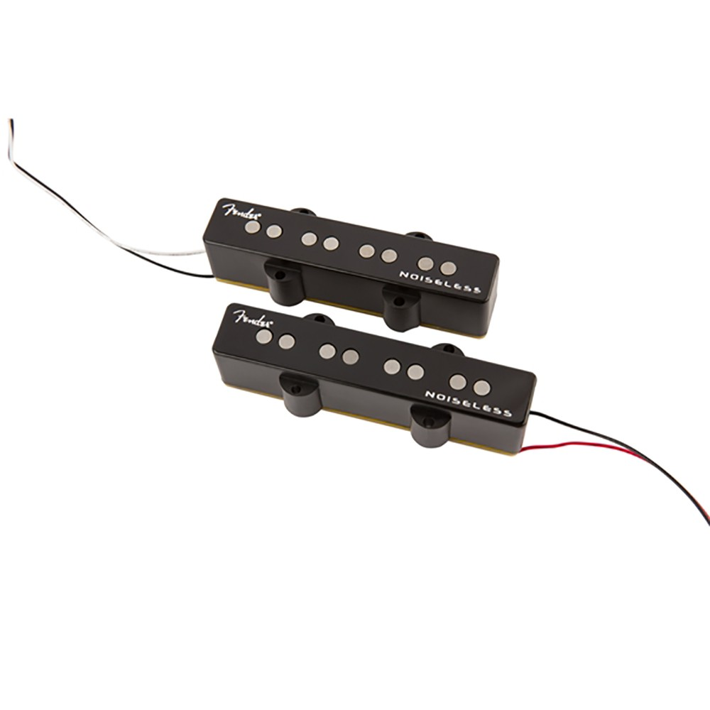 Fender Gen 4 Noiseless Jazz Bass Pickup Set - Black