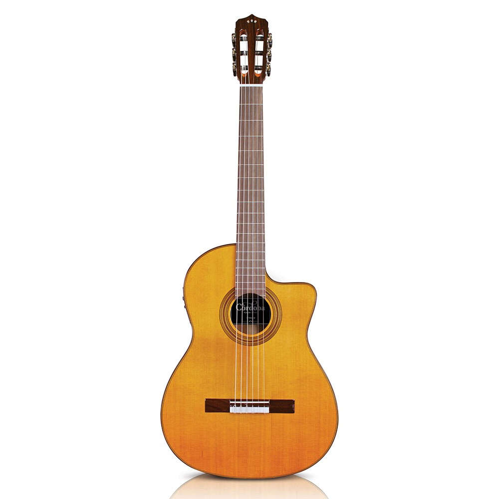 cordoba fusion 12 natural 6 string acoustic electric nylon string classical guitar. Black Bedroom Furniture Sets. Home Design Ideas