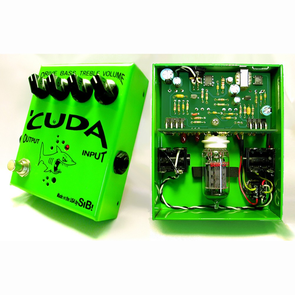 SIB Effects Cuda Tube Overdrive Distortion Guitar Effects Pedal