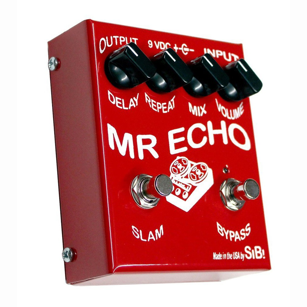 SIB Effects Mr Echo 550ms FET Driven Echo/Delay Guitar Effects Pedal