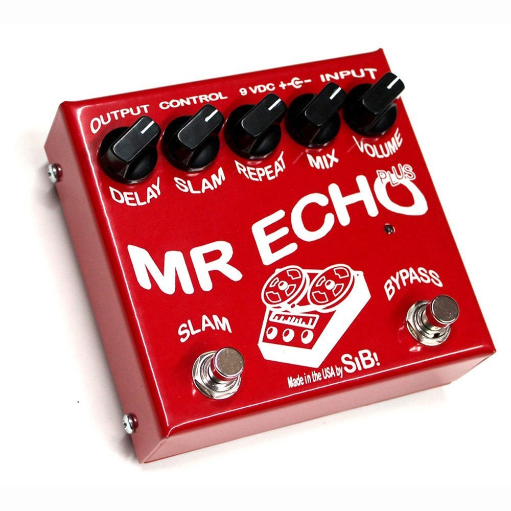 SIB Effects Mr Echo Plus 550ms FET Driven Echo/Delay Guitar Effects Pedal with SLAM Control