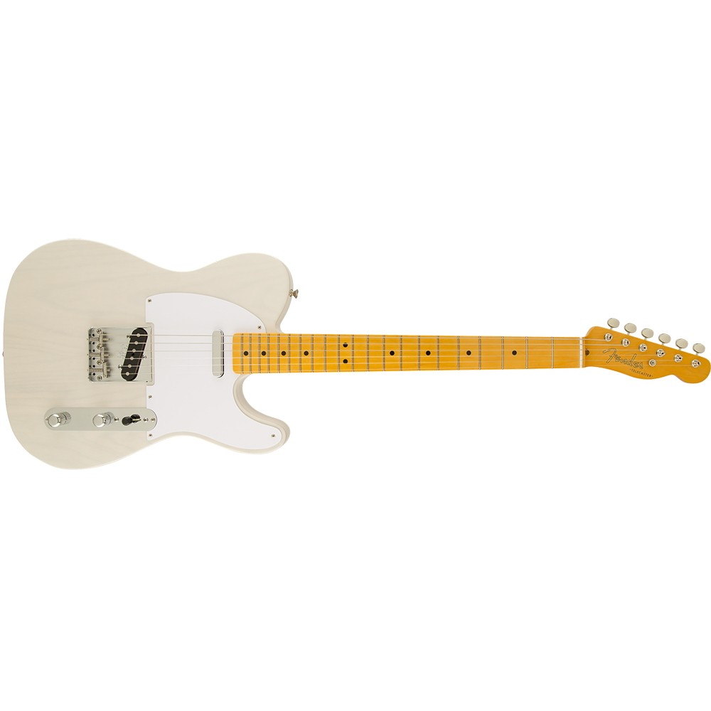 fender classic 39 50s telecaster lacquer electric guitar white blonde. Black Bedroom Furniture Sets. Home Design Ideas